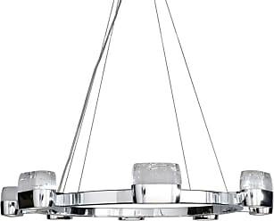 ET2 E22898-89 Volt 28 LED Pendant with Bubble Glass Polished Chrome