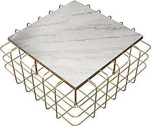 a057701625e8 Varaluz Casa 430A02GOWM Grid Collection Coffee Table Aged Gold