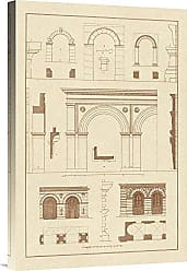 Bentley Global Arts Global Gallery Budget GCS-394635-1624-142 J. Buhlmann Gateways Arches and Arcades Gallery Wrap Giclee on Canvas Wall Art Print