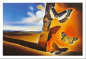 Buyartforless Buyartforless Paysage Aux Papillons by Salvador Dali 24x31 Art Print Poster