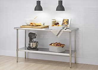 24-Inch TRINITY EcoStorage NSF Stainless Steel Table