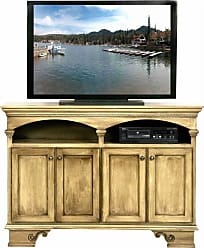 Eagle Furniture American Premiere 58 in. Entertainment Console with 4 Doors - 16055WPAS