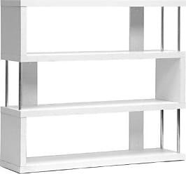Wholesale Interiors Baxton Studio Barnes 3-Shelf Modern Bookcase, White