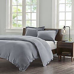 Ink + Ivy Ink+Ivy II12-680 Jersey Cotton Duvet Cover Mini Set King Grey