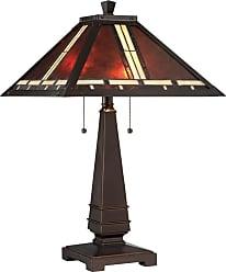 Lite Source Inc. C41267 Crimson 2 Light Table Lamp Dark Bronze Lamps