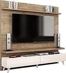 Imcal Painel para TV 60 Polegadas Boss 2 GV Madeira Touch com Off White 182 cm