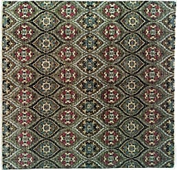 Solo Rugs Ikat Hand Knotted Area Rug, 8 0 x 8 2, Brown