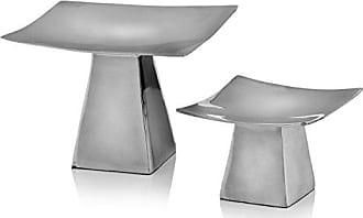 Modern Day Accents Anden Pedestal Candleholder, Set of 2