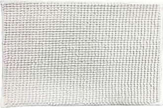 Niazitex TAPETE CHENILLE SHAGGY SMART 0,45 X 0,75 - NIAZITEX Marfim