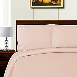 Home City Inc. Superior 600 Thread Count Tencel Blend Duvet Cover Set, King/California King, Pink