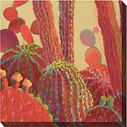 West of the Wind Desert Blooms Wall Art - 24W x 24H in. - 84001-24
