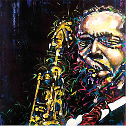 Louis Leonard Art John Coltrane Ascension by Jerry Prettyman Canvas Wall Art - JEP012-1818