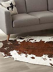 Simons Maison Faux-cowhide area rug 145 x 145 cm