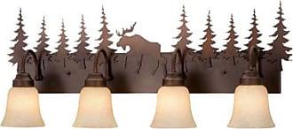 Vaxcel Yellowstone Bathroom Wall Light - 33W in. Burnished Bronze - VL55604BBZ