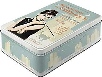 16 x 7 x 23 Acciaio Nostalgic-Art 40361133071 Contenitori per Alimenti
