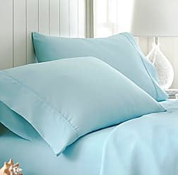 iEnjoy Home Simply Soft 2 Piece Ultra Soft Pillow Case Set, Standard, Aqua