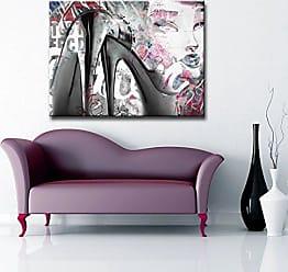 Ready2HangArt Ready2hangart Urban Fashion XXXIX Canvas Art, 16 H x 20 W, Pink