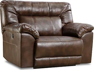 United Furniture Simmons Upholstery Abilene Tobacco Cuddler Recliner - 50571PBR-195 ABILENE TOBACCO