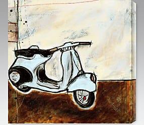 Gallery Direct Vespa I Indoor/Outdoor Canvas Print by Joel Ganucheau - NE37371