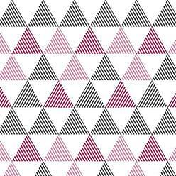 Lar Adesivos Papel de Parede Infantil Geométrico Adesivo Lavável N4252