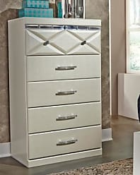 Ashley Furniture Dreamur Chest of Drawers, Champagne