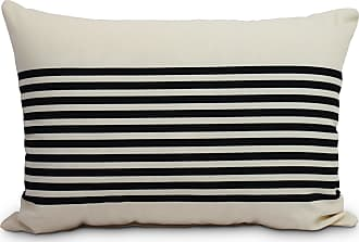 E by design PG861GY6-20 Tufted Decorative Geometric Throw Pillow 20 Black