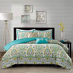 INTELLIGENT DESIGN Comforter Set, Twin/Twin XL, Green