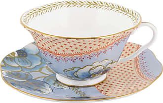 Wedgwood Butterfly Bloom Teacup and Saucer Blue