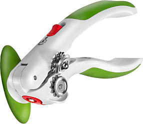 Zyliss Lock N Lift Can Opener with Lid Lifter Magnet, Green
