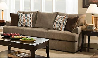 United Furniture Grandstand Walnut Sofa - 8540BR-03 GRAND WALNUT