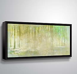 Brushstone Hazel Fog by Scott Medwetz Framed Canvas - 0MED851A0612F