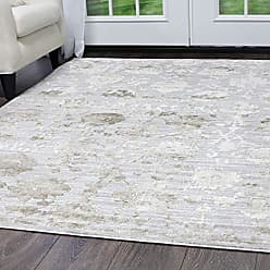 Home Dynamix 6046-620-1 Kenmare Marian Rug, 53x72 Rectangle, Gray/Oat