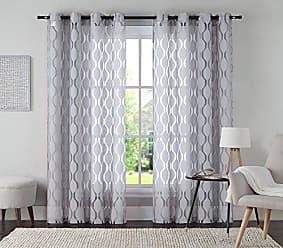 VCNY Home VCNY Home Aria Window Curtain, 54x108, Ivory