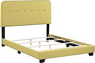 Boraam 95152 Helene Box Full Bed, Seagrass