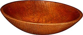 Hickory Manor House Oval Egg Bowl Red, Oak