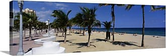 Great Big Canvas Florida Fort Lauderdale Beach Canvas Wall Art Print - 68858_24_36X12_NONE