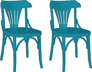 Emexis Par de Cadeiras Baden TurquesaTurquesa