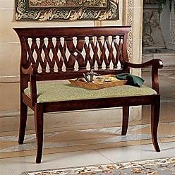 Design Toscano Mahogany Entryway Bench