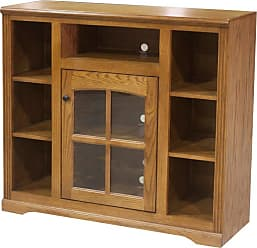 Eagle Furniture 45 in. Oakridge Bookcase Entertainment Console - 934045PLAT