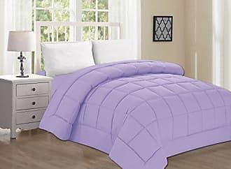 Elegant Comfort Luxury Comforter on Amazon! Elegant Comfort Ultra Plush Down Alternative Double-Filled Comforter%100 Hypoallergenic, King/Cal King, Lilac
