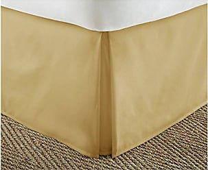 iEnjoy Home IEH-BEDSKIRT-FULL-GOLD Home Collection Pleated Bed Skirt, Full, Gold