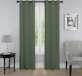 Ellery Homestyles KOZDIKO Eclipse Nikki Thermaback Window Panel, 40 x 63, Emerald