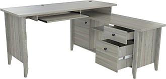 Inval America L-Shaped Computer Desk Espresso Wenge - ET-4315