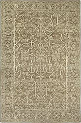 Kaleen Rugs Kaleen HRA02-105-35 Herrera Collection Hand-Knotted Area Rug, 3 x 5, Khaki