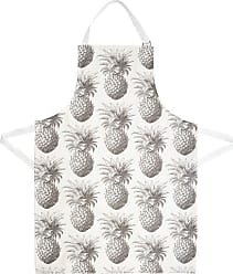Thornback & Peel Pineapple Apron - Gray