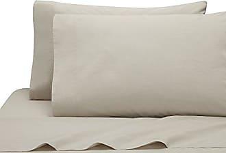 Kassatex LMB-QPC-Oat Lorimer Bedding Queen Pillowcase Set of 2, Oatmeal