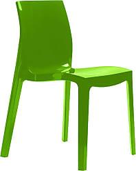 Ór Design Cadeira Ice Verde Brilhante