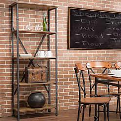Baxton Studio Lancashire Bookcase - YLX-0008-BC