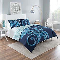 Ellery Homestyles Vue Zendaya Comforter Set, King, Blue