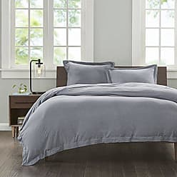 Ink + Ivy Ink+Ivy II12-678 Jersey Cotton Duvet Cover Mini Set Twin XL Grey, Twin/Twin X-Large